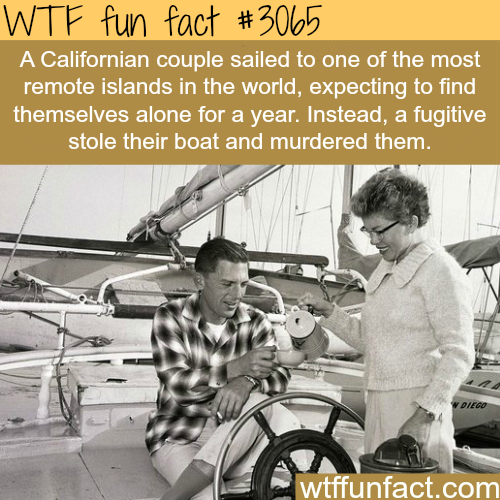 "Craziest murder story ""and the sea will tell"" -  WTF fun facts"