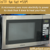 crazy fact about the microwave