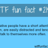 creative people and creativity wtf fun facts