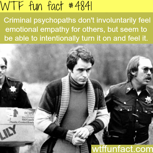 Criminal Psychopaths - WTF fun facts