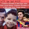 cristiano ronaldo vs lionel messi wtf fun facts