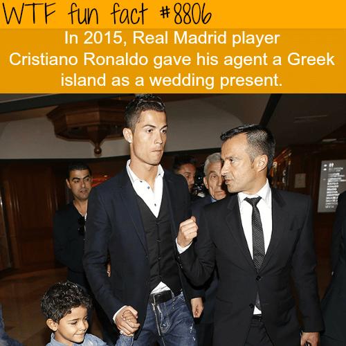 Cristiano Ronaldo - WTF fun facts
