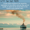 cruise ships wtf fun fact