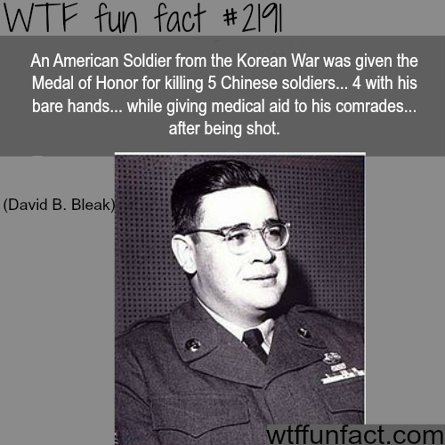 David B. Bleak - WTF fun facts