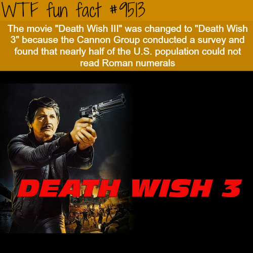Death Wish 3 - WTF fun fact