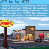 dennys 24 7 restaurant wtf fun fact