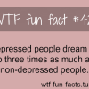 depressed people