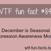 depressing fact