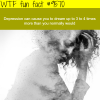 depression wtf fun fact