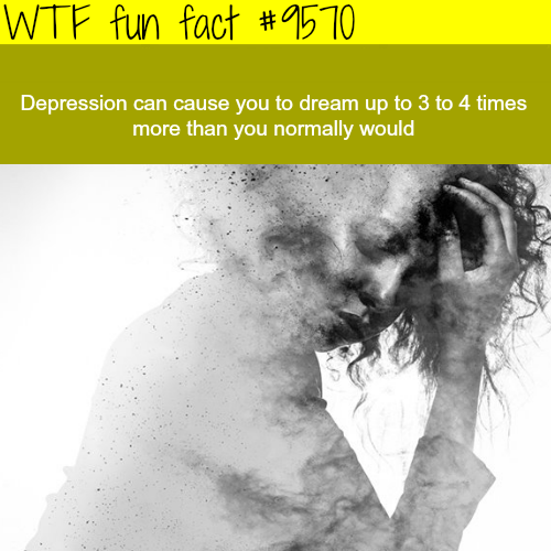 Depression - WTF fun fact