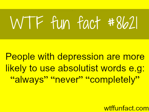 Depression - WTF fun facts