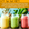 detox products wtf fun facts