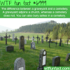 difference between graveyard and cemetery wtf