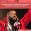 dj khaled facts wtf fun facts