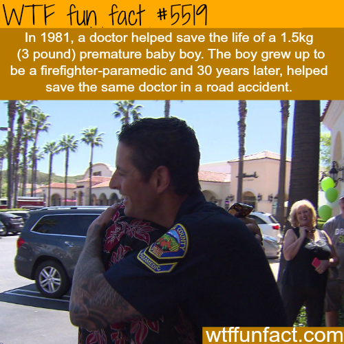 Doctor saves the life of 1- WTF fun facts