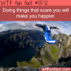 doing things that scare you wtf fun facts