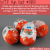 dont bring kinder eggs to the usa wtf fun
