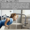drinking 8 glasses of water a day wtf fun facts