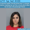drunk driver kills her friend wtf fun facts
