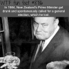 drunk prime minster of new zealands wtf fun
