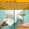 drying your hands with paper towel