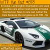 dubai lamborghini police cars