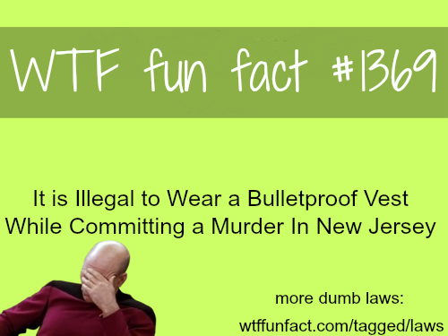 Dumb laws - facts
