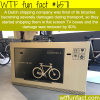 dutch company ships bikes in flat screen tv boxes