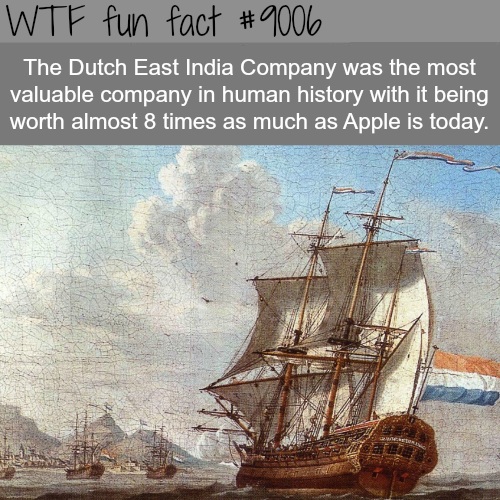 Dutch East India Company - WTF fun facts