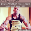 dwayne johnsons diet wtf fun facts