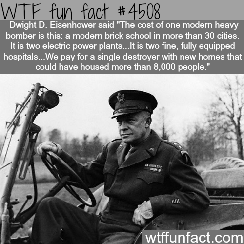 Dwight D. Eisenhower quotes -   WTF fun facts