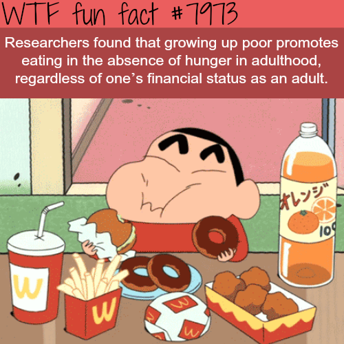 Eating in the absence of hunger - WTF fun fact