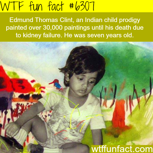 Edmund Thomas Clint - WTF fun facts