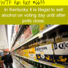 election day wtf fun facts