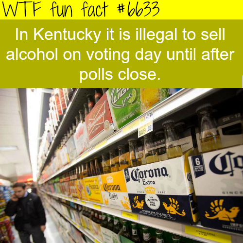 Election day - WTF fun facts