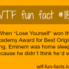 eminem celebrities facts