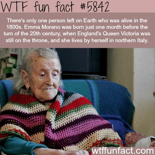 Emma Morano - WTF fun facts