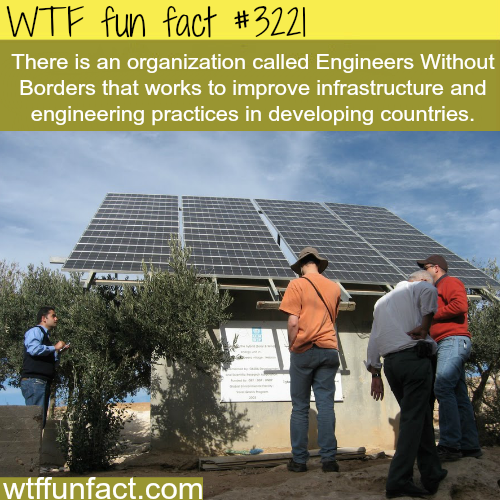 Engineers Without Borders -WTF fun facts