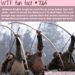 english longbows wtf fun facts