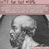 eratosthenes wtf fun facts