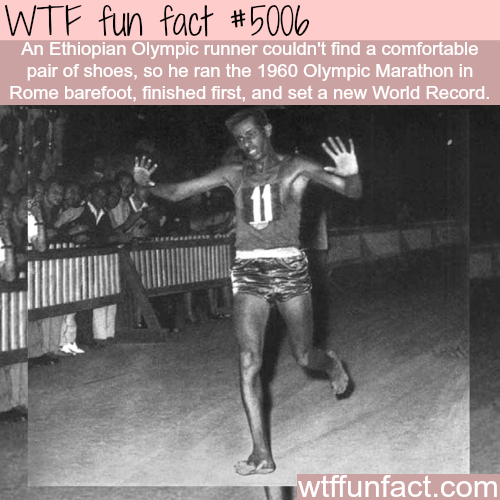 Ethiopian Olympic runner set a word record