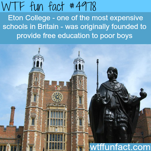 Eton College - WTF fun facts