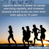 exercising keeps your brain young wtf fun facts