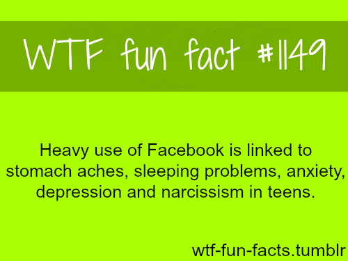 facebook facts - social networks