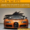 fact you never knew about the bugatti veyron
