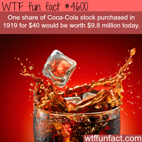 Facts about Coca Cola -   WTF fun facts