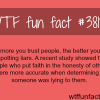 facts about spotting liars