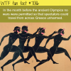 facts about the ancient olympics wtf fun facts
