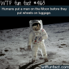 facts about the moon landing wtf fun facts