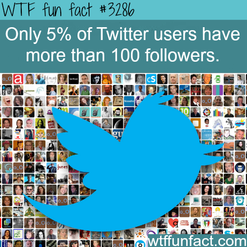 Facts about twitter that will surprise you -  WTF fun facts